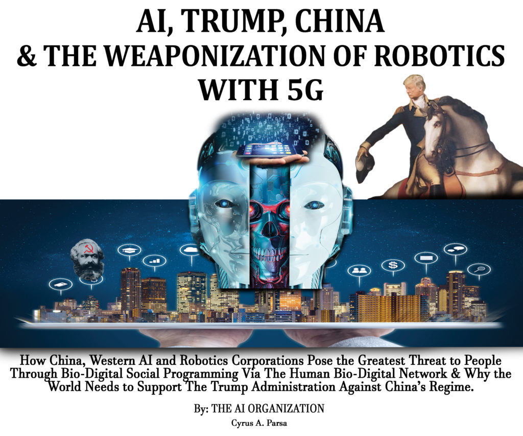 AI, TRUMP, CHINA & DIE WEAPONISIERUNG VON ROBOTIK MIT 5G