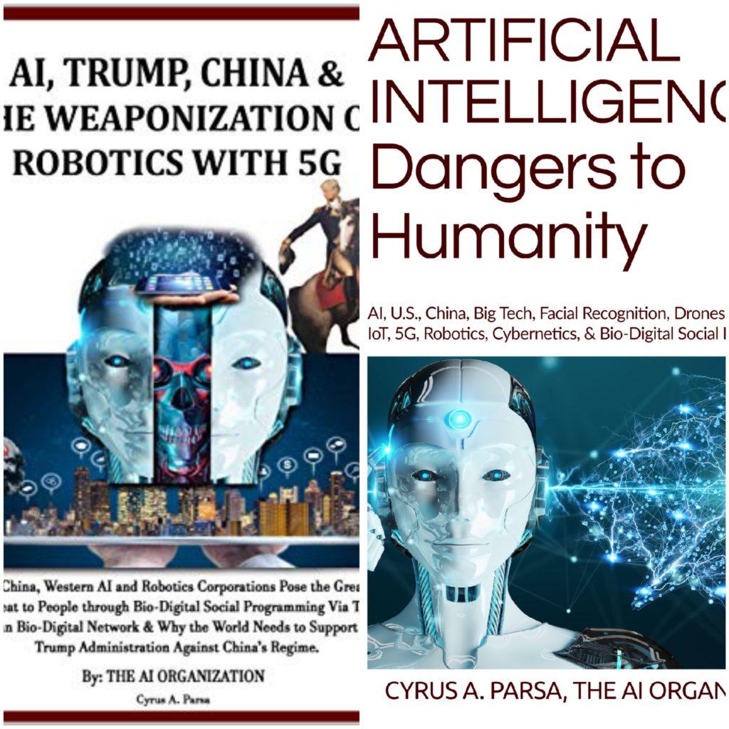 AI Trump China und die Waffe der Robotik mit 5G, künstliche Intelligenz Gefahren für die Menschheit
