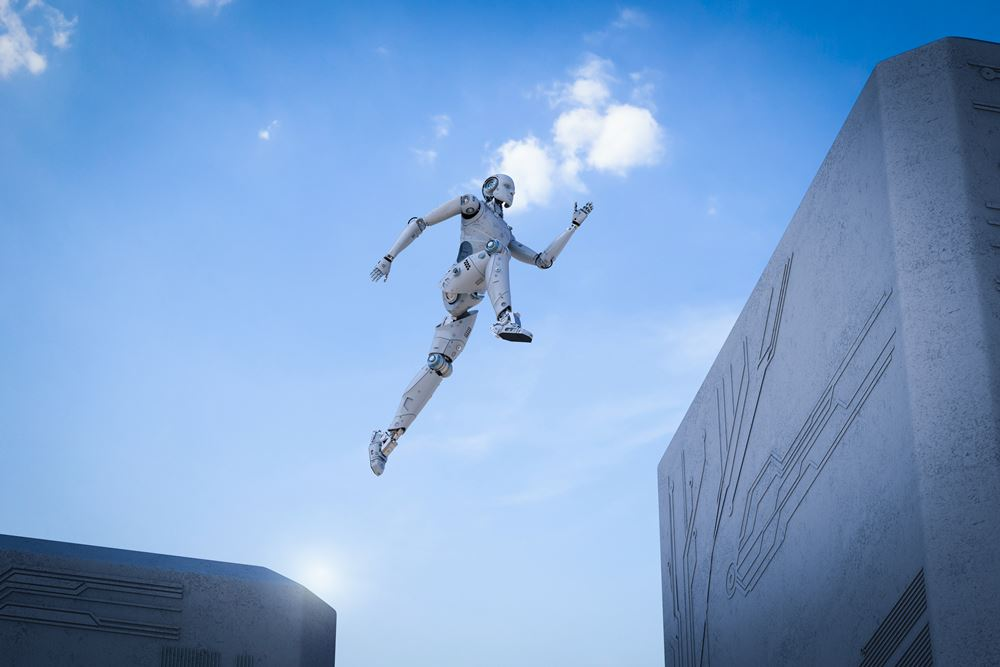 Robot Robotics Transhumanism