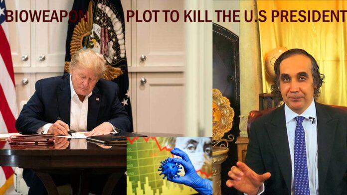 CCP Уханьская лаборатория биологического оружия Заговор с целью убийства президента США CCP-Bioweapon-Plot-to-Kill-the-U.S-President-pic-696x392